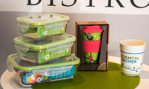 Schützen Sie nachhaltig die Umwelt mit unseren wiederverwendbaren To-Go-Verpackungen aus Mayr's Bistro in Planegg bei München.