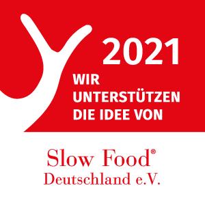 2021 – Wir unterstützen die Idee von Slow Food Deutschland e.V.